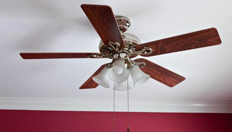 beautiful ceiling fan with light fixture