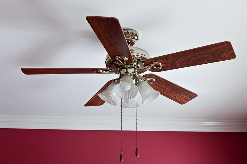 glossy ceiling fan