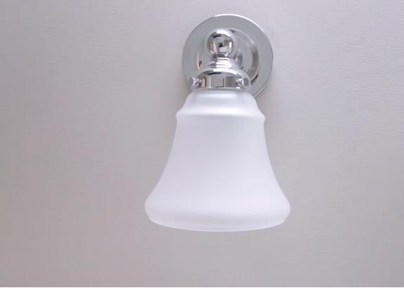 insert the bulb