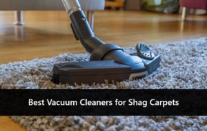 best vacuum cleaner for shag carpets