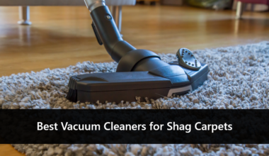 best vacuum cleaner for shag carpets