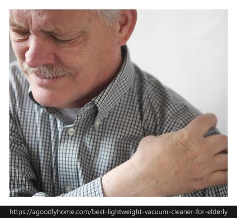 old man's shoulder pain