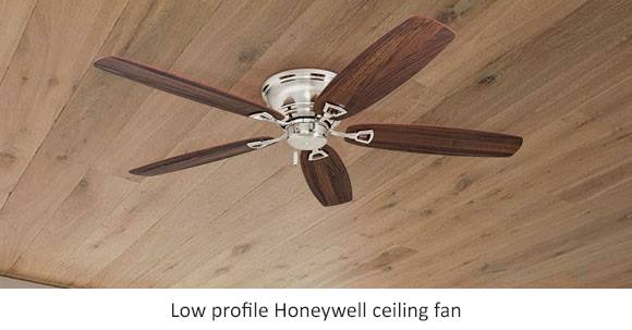 In picture: Honeywell Glen Alden 52-inch low profile fan