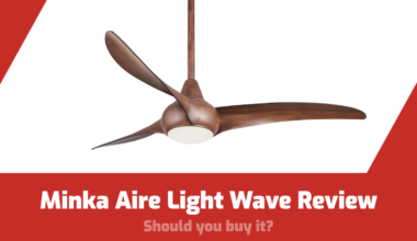 minka aire light wave review