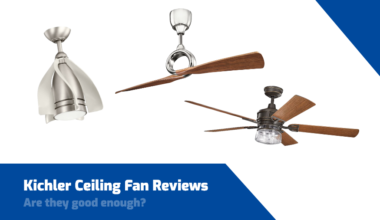 kichler ceiling fan reviews